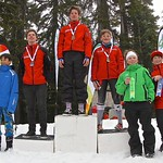 Cypress Teck U14 SL - Day 2, Race 1 men's podium PHOTO CREDIT: Hans Forssander