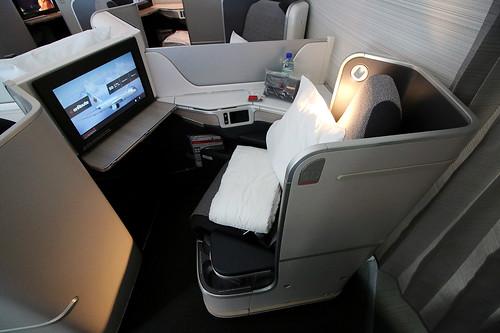Business class Boeing 787-8 Air Canada