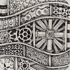 Framework Example (molossus, who says Life Imitates Doodles) Tags: patterns steampunk zentangle zendoodle tanglepatterns zentangleinspiredart patterncollectionscom