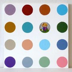 Damien Sektori 4 (neppanen) Tags: art painting acrylic damien maalaus afrikan hirst damienhirst taide afrikanthti thti kuvataide discounterintelligence maalaustaide akryyli sampen samipennanen