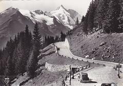 Ansichtkaart Grossglockner hochalpenstrasse (dickjan thuis) Tags: grossglockner hochalpenstrasse ansichtkaart cartepostaleancienne