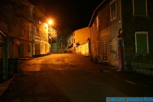 Village Corse en sommeil