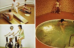 Spa and Health Club, Sheraton Hotel and Country Club, French Lick, IN (Guy Clinch) Tags: hotel exercise postcard jacuzzi hottub sheraton gym spa