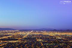 City of Phoenix (JAKE PINEDA) Tags: city arizona mountain phoenix landscape nikon downtown cityscape south az lookout nikkor hdr camelback dobbins f3545 azsunset 2485 d810