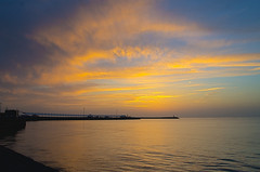 Hormoz (aidin36) Tags: sunset sea sky cloud water landscape island iran outdoor shore hdr