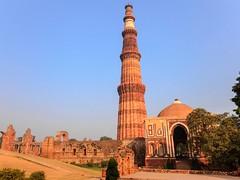 qutub minar (artichawla1) Tags: new delhi qutub minar