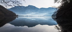 Riflessi (robyf80) Tags: montagne inverno riflessi alpi viaggio trentino specchio levico