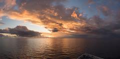 Sunset Panorama (MrBlackSun) Tags: ocean sunset nikon pacific pacificocean solomon solomonislands silversea d810 nikond810 silverdiscoverer