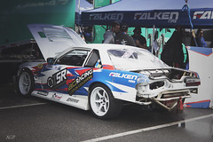 Formula Drift Car (littlebirdyfly) Tags: falken groin falkentires bcracing hoonigan isrperformance e30bmwaudir8slammedwheelsdatsunracecarformuladformuladriftlongbeach