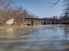 2 Hutchinson (photography_isn't_terrorism) Tags: railroad trestle bridge reflection abandoned train river rust rusty wm wv westvirginia rusted bo westernmaryland baltimoreohio westernmarylandrailway westforkriver