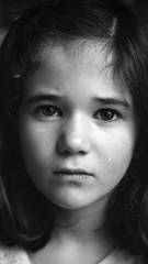 crop (Shooting Ben) Tags: blackandwhite 120 6x6 mamiya film girl closeup mediumformat natural c330 caffenol