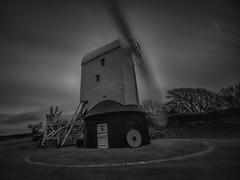 Jack & Jill Windmill (Trigger1980) Tags: sky west windmill downs jack sussex nikon long jill south ngc sigma east mm f4056 100200 d7000 nikond7000