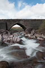 A River Runs Through It (Colin Redmond) Tags: longexposure bridge river bridges mayo leenane westofireland