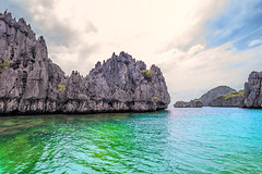 EL Nido, Philippines (Demis de Haan) Tags: sea sun landscape rocks philippines el land scape nido elnido palawan 14mm
