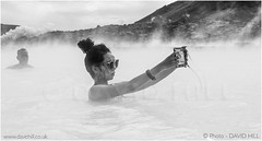 Steamy Selfie (channel packet) Tags: iceland steam pools thermal bluelagoon selfie bather davidhill