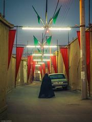 Historical Town - Kashan, Iran (Capturing the Sensorial) Tags: camera travel light people festival purple iran persia olympus historic kashan islamic historial 1240 ashurah omdem5 1240f28