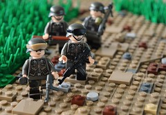On the move (~J2J~) Tags: lego nazi scene ww2 germans minifigures brickarms minifigsrus