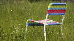 ...auf dem Land - Serie ( doro 51 ) Tags: spring chair colorful meadow wiese stuhl bunt frhling 2016 dorophoto