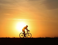 Light Rider (PelicanPete) Tags: sunset sky usa bicycle silhouette spring unitedstates florida outdoor hometown everglades elevated rider dike floridaeverglades southflorida browardcounty flickrsbest lightrider diamondclassphotographer flickrdiamond coralspringsflorida dmslair artisticsunsetphotography