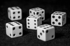 2,450 and Rolling... (davecrev) Tags: dice 10000 hmm oneofthesethings macromondays