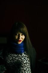 Retrato Nata 2 (claudio.chappav) Tags: luz natural retrato contraste baja alto oscura cruzada clave