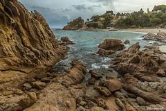 Cala_St_Francesc_9_nick (xrosellop) Tags: beach sand abril playa arena cala rocas platja blanes francesc 2016