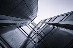 [From the Series: Urban Facade Abstractions] (Thomas Bonfert) Tags: urban abstract architecture facade reflections mono