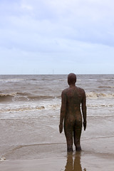 IMG_4150 (Sympathetic Fire) Tags: beach liverpool crosby antonygormley anotherplace crosbybeach