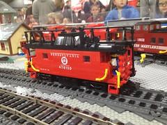 PRR N8 class 01 (Cale Leiphart) Tags: railroad train lego pennsylvania rr caboose n8 prr cabincar trainphone railyardtelegraph