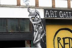 street art (Artee62) Tags: city uk london canon 7s cityroad