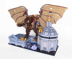 BioShock Infinite Songbird UCS (Imagine) Tags: bird wings lego infinite songbird moc ucs bioshock imaginerigney