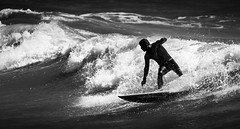 (JC Padial) Tags: shadow surf surfer sombra