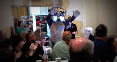 """Josh the Otter educates kids in Carteret County about water safety.Photo credits: Erik GrunwaldMore information: <a href=""""http://northraleighrotary.org/2016-district-conference"""" rel=""""nofollow"""">northraleighrotary.org/2016-district-conference</a>"""
