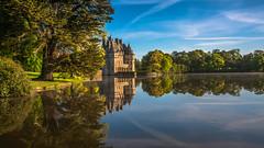 Chateau la Bretesche (R-One G) Tags: paysage chteau levdesoleil poselongue francelandscapes filtrend1000 golfdelabretesche