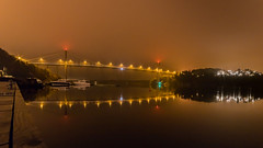 IMGP4234 (jarle.kvam) Tags: reflection norway nightphoto brigde