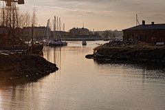 Suomenlinna (Tuomo Lindfors) Tags: sea water suomi finland helsinki dxo meri suomenlinna vesi sveaborg filmpack varvislahti