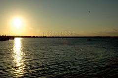 BLH06 (forthemassesstudio) Tags: ocean sea sun lighthouse texture beach nature lines birds clouds boat newjersey fishing patterns nj wanderlust explore shore barnegat jerseyshore seashore oceancounty wander ocnj opensea