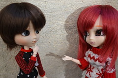 talking (DollEmiou) Tags: eye wig pullip obitsu nezumi pullipsticafc pullipmeg emiou dollemiou