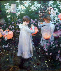 Sargent, Carnation, Lily, Lily, Rose, 1885-86