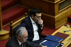 greecePoliticsParliament (X-Andra) Tags: alexis greek prime europe politics parliament social athens greece member pm debate minister pension alternate giannis austerity syriza tsipras pensioncuts dragasakis insurancepolitician