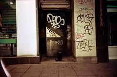 black cat (Shtani v Getri) Tags: life camera old city 2 color love film mju zoom sofia lifestyle atmosphere olympus iso bulgaria ii 200 hate 24 100 agfa expired 36 80 oldfilm