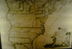 Colonial US Map at US Library of Congress Thomas Jefferson Building - Washington DC (mbell1975) Tags: usa building history museum america us dc washington districtofcolumbia unitedstates state map thomas library colonial exhibit congress american government jefferson loc states artifacts 1700s