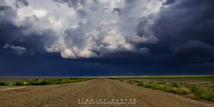 Kansas Storm (Black Mesa Images) Tags: storm black oklahoma rain weather hail night clouds texas stanley drought chase thunderstorm lightning prairie harper tornado thunder mesa panhandle chasing spearman cimarron hardesty guymon supercell gruver goodwell