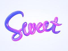 sweet (ijstheedribbble) Tags: inspiration apple design tv graphic screensaver popular dribbble iftt