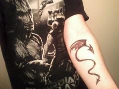 My First Tattoo (Fuckero) Tags: friends caitlin tattoos eastwood
