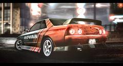 Nissan Skyline GT-R (R32) (flamidez123) Tags: world skyline speed for nissan need gtr r32 wcp advan