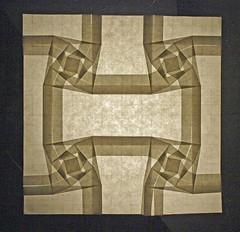 Hanoi Tower tessellation (mganans) Tags: origami tessellation squaretwist dirkeisner
