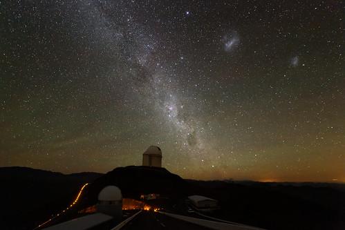 Rising Centaurus above La Silla