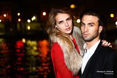 A night in Paris (François Escriva) Tags: woman man paris tower beautiful fashion night couple eiffel
