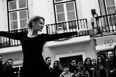 The Dancer (1Bag1Life) Tags: street portugal monochrome dance lisbon sony sigma a6000